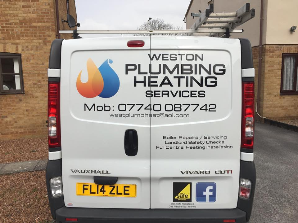 plumber heating services in weston worle